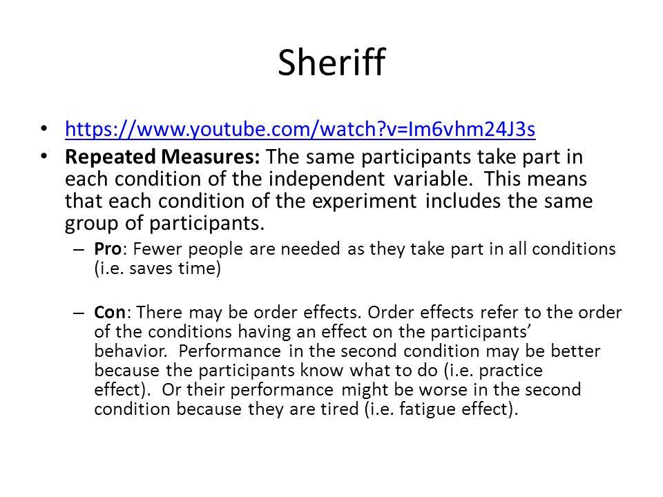 Sheriff https://www.youtube.com/watch v=Im6vhm24J3s