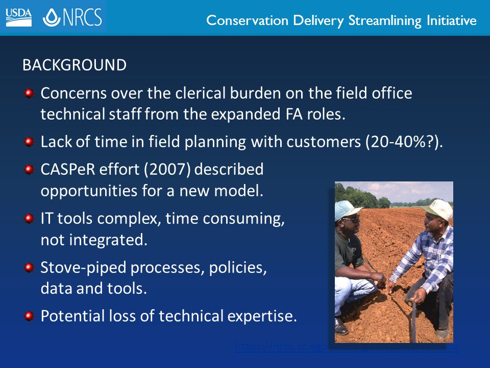 Lack of time in field planning with customers (20-40% ).