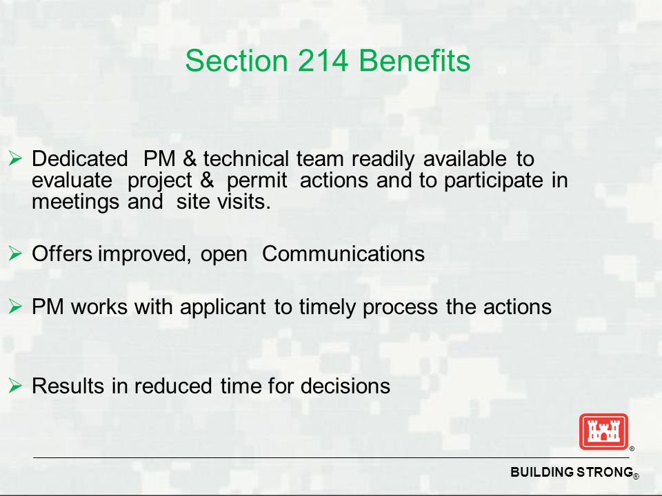 Section 214 Benefits