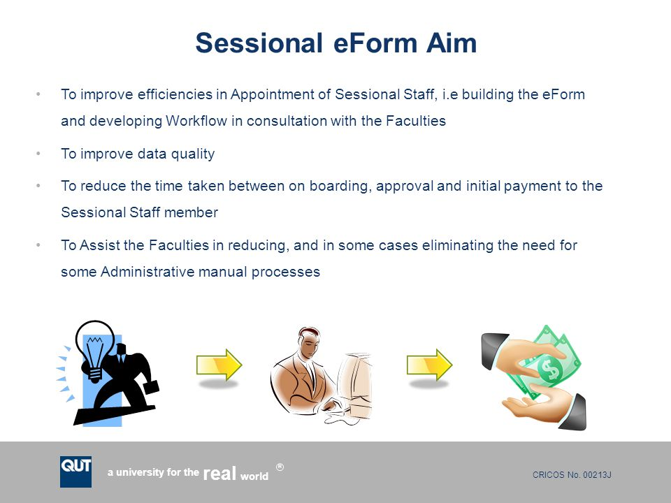 Sessional eForm Aim