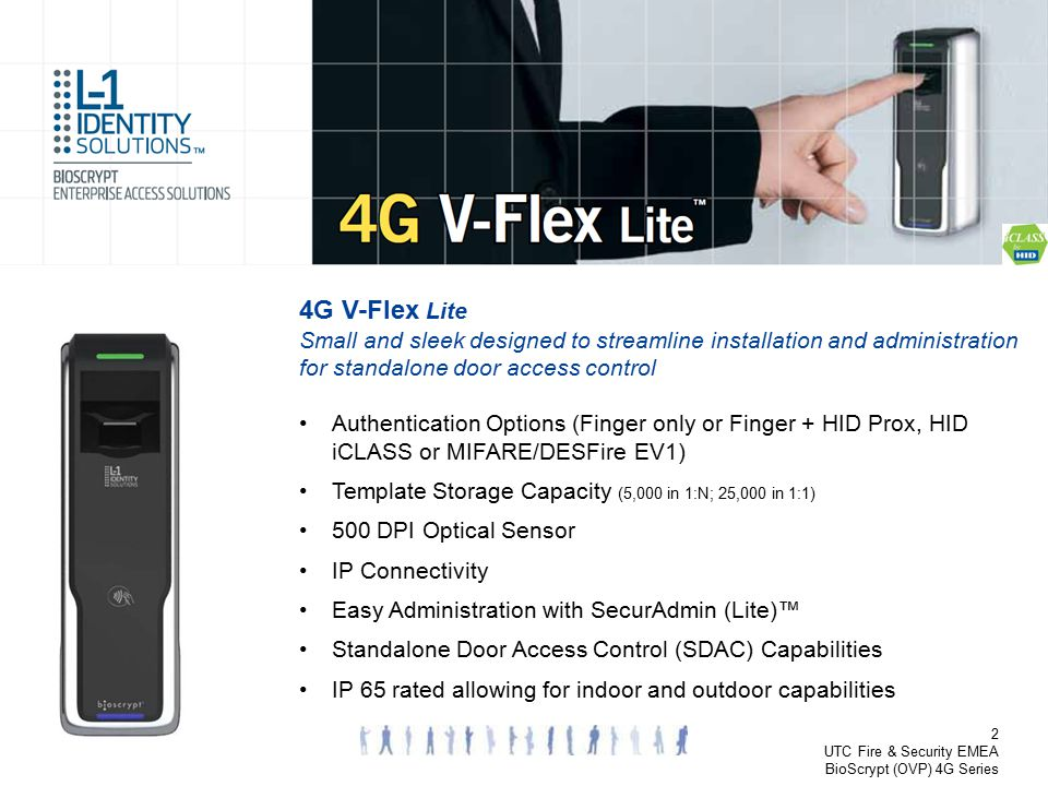 4G V-Flex Lite Small and sleek designed to streamline installation and administration for standalone door access control.