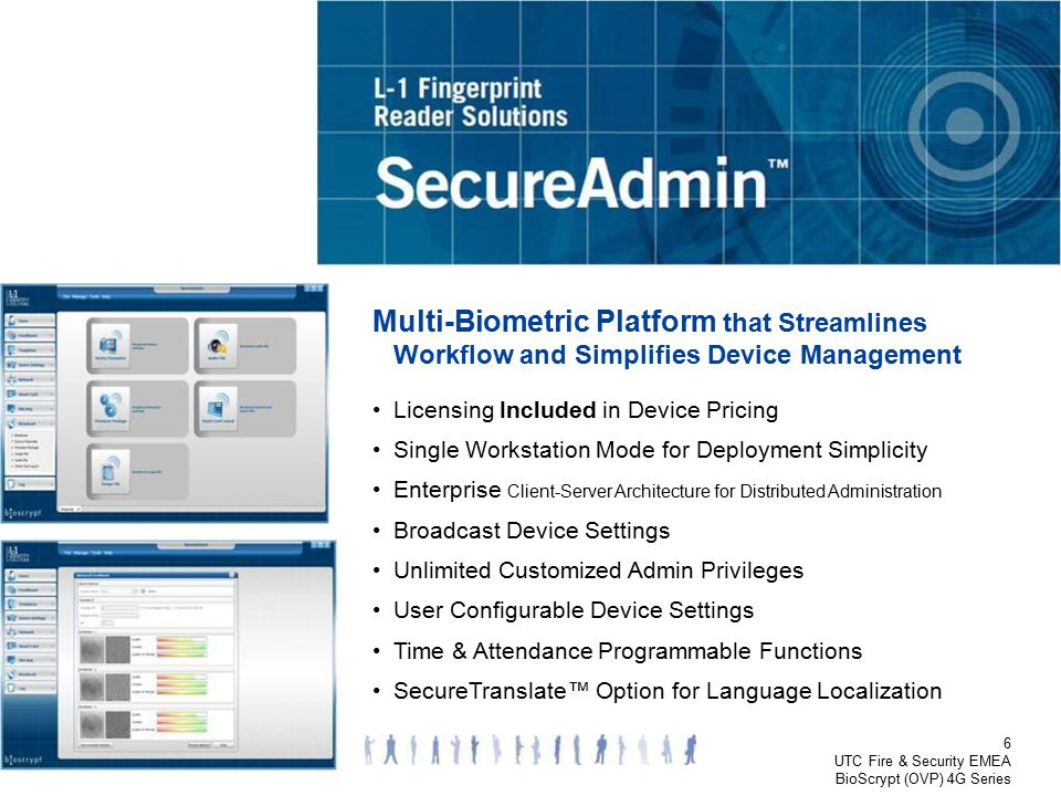 Product Options – SecureAdmin
