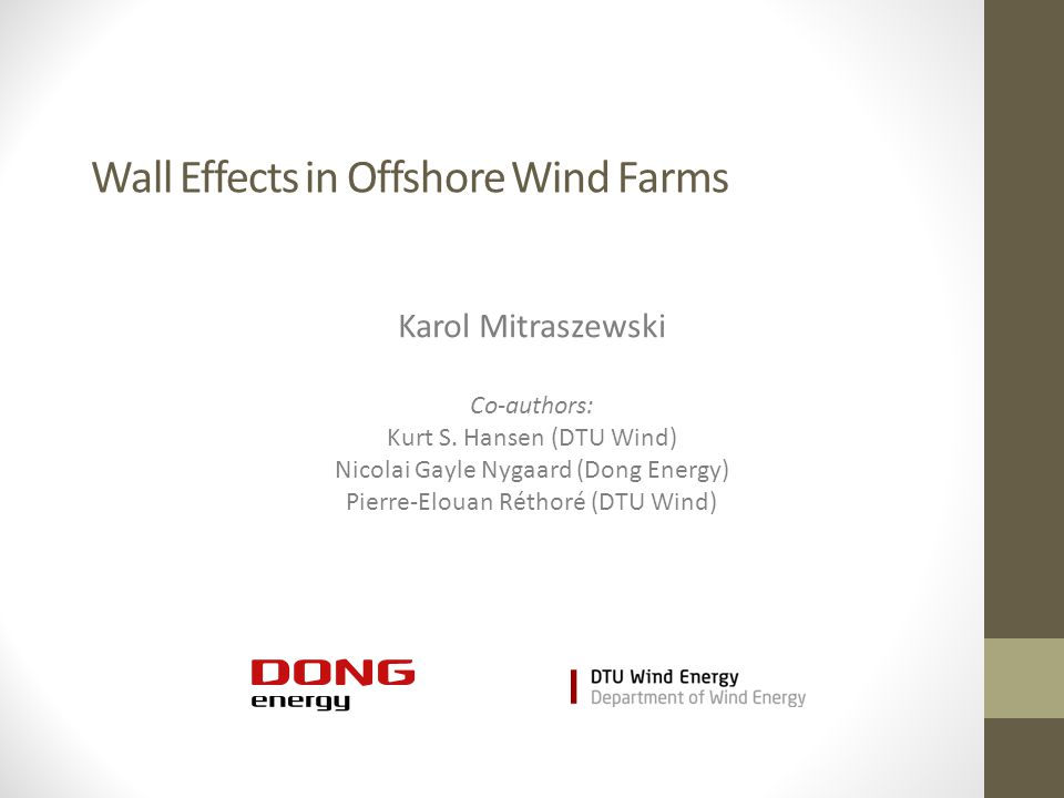 Wall Effects in Offshore Wind Farms