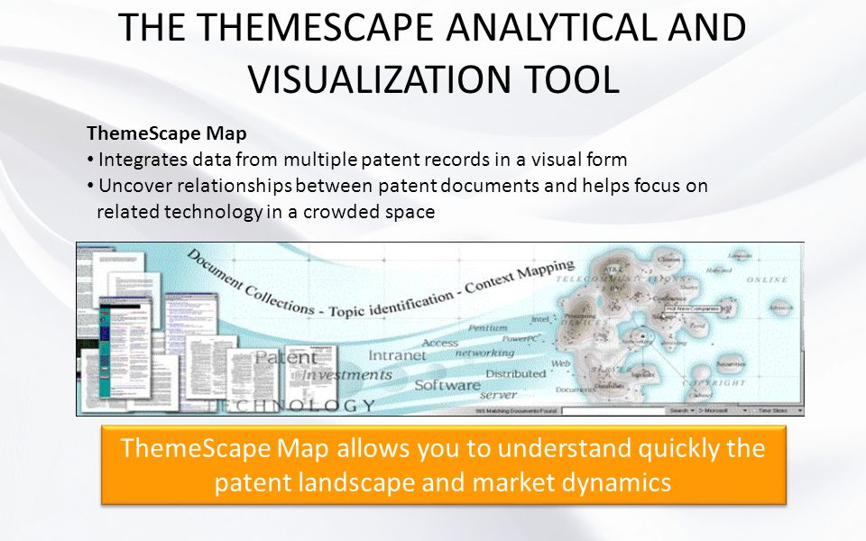 THE THEMESCAPE ANALYTICAL AND VISUALIZATION TOOL