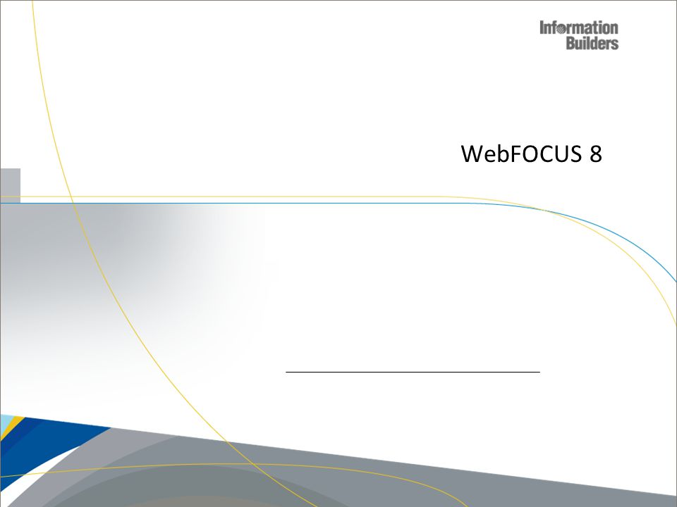 WebFOCUS 8