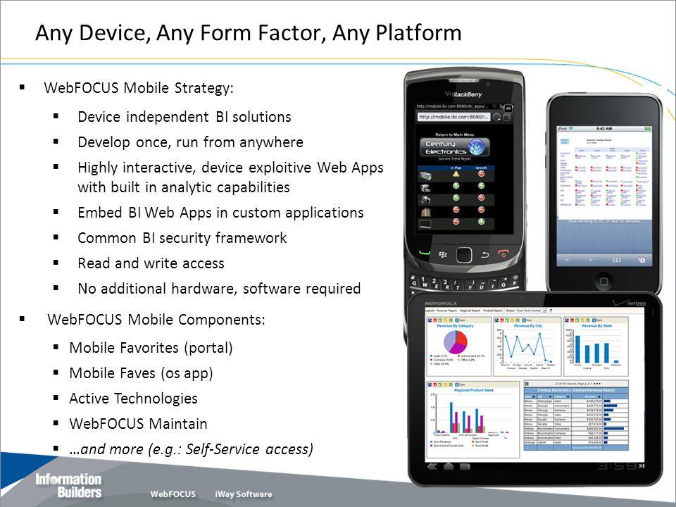 Any Device, Any Form Factor, Any Platform