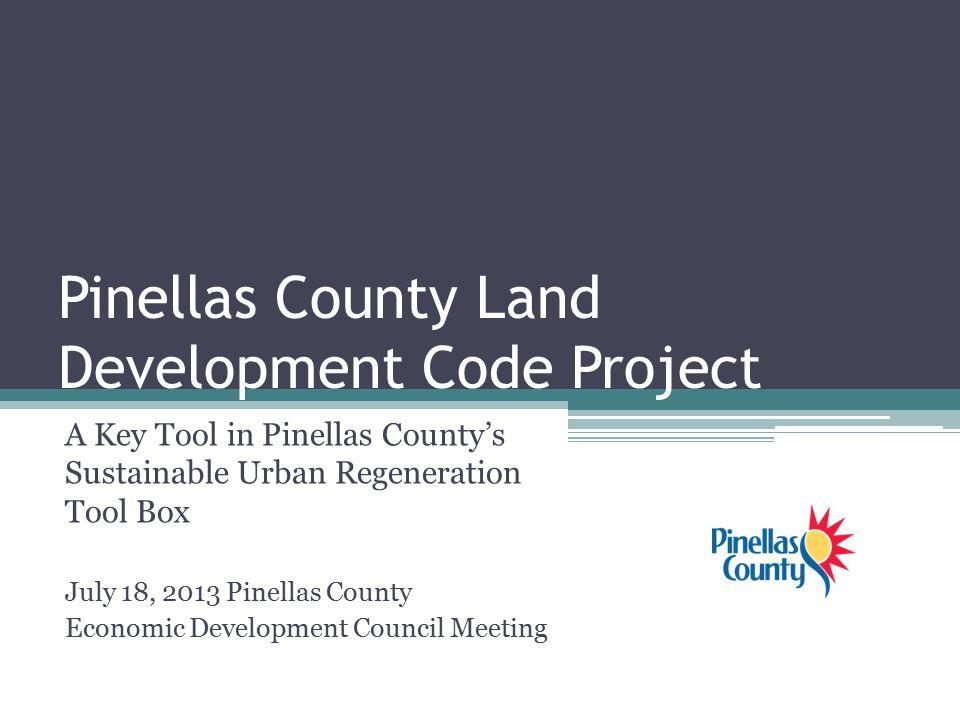 Pinellas County Land Development Code Project