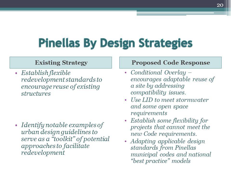 Pinellas By Design Strategies
