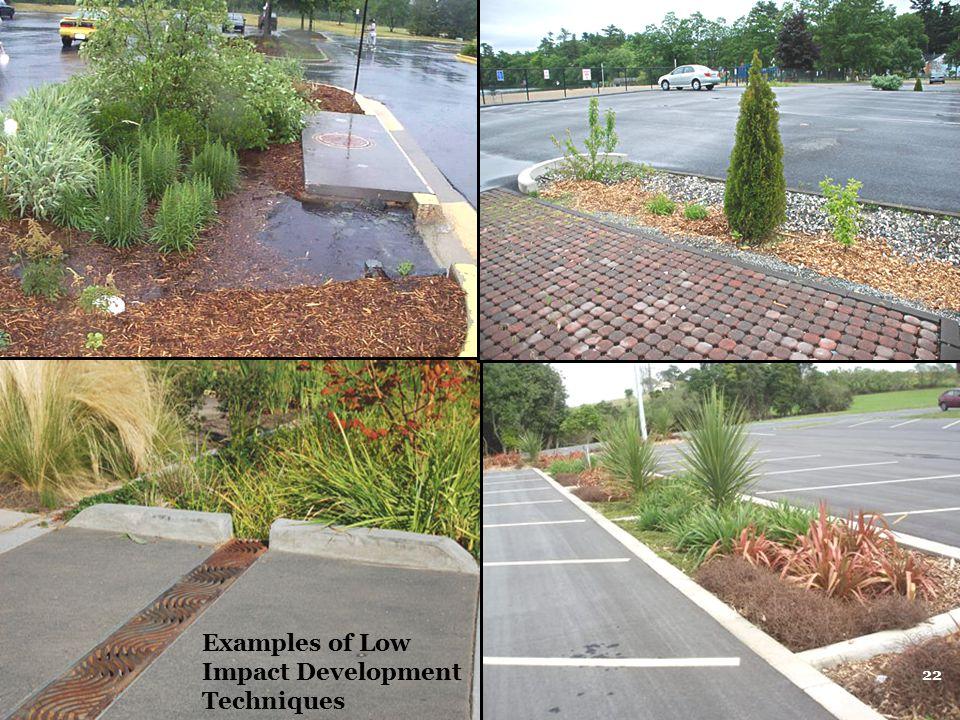 Examples of Low Impact Development Techniques