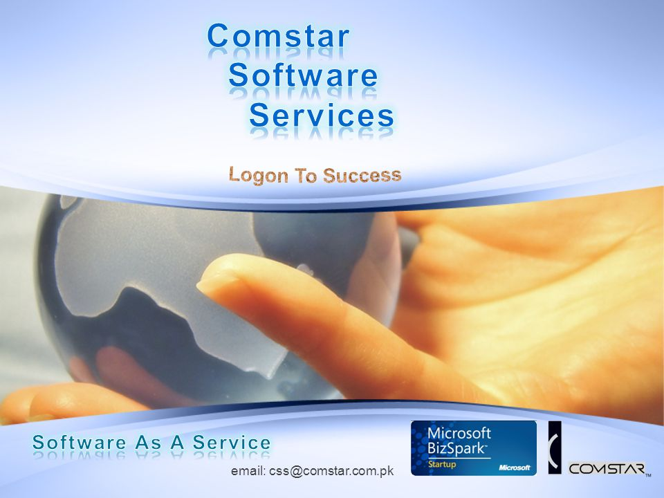 Comstar Software Services Logon To Success Software As A Service