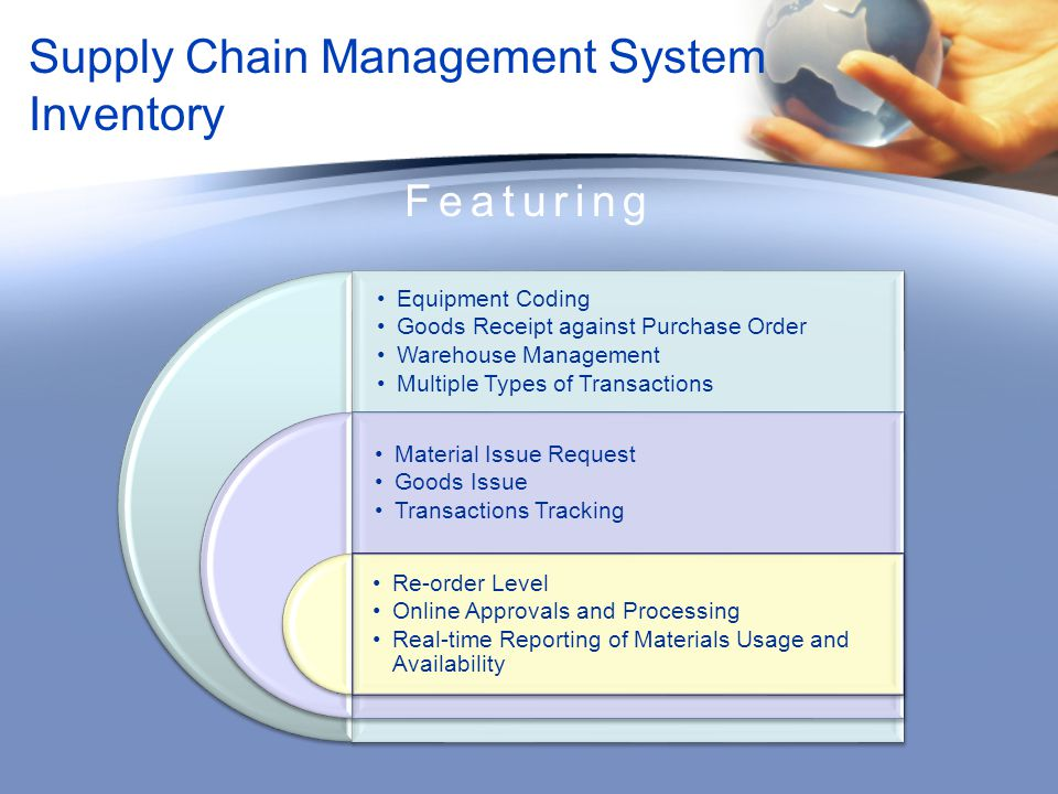 Supply Chain Management System Inventory