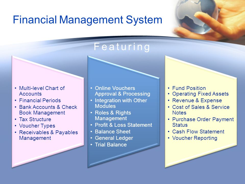 Financial Management System