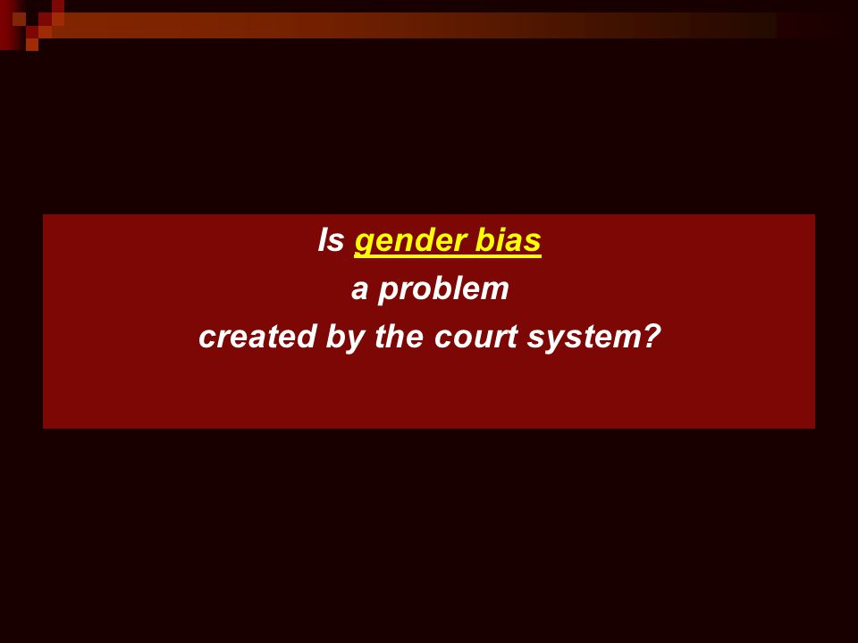 created by the court system