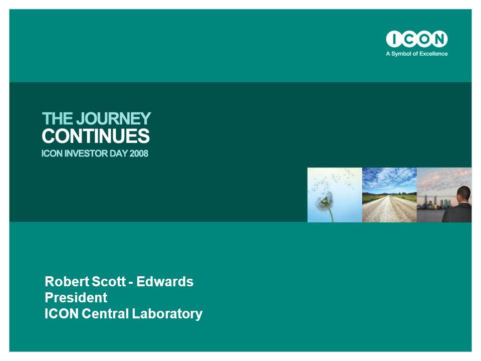 Robert Scott - Edwards President ICON Central Laboratory