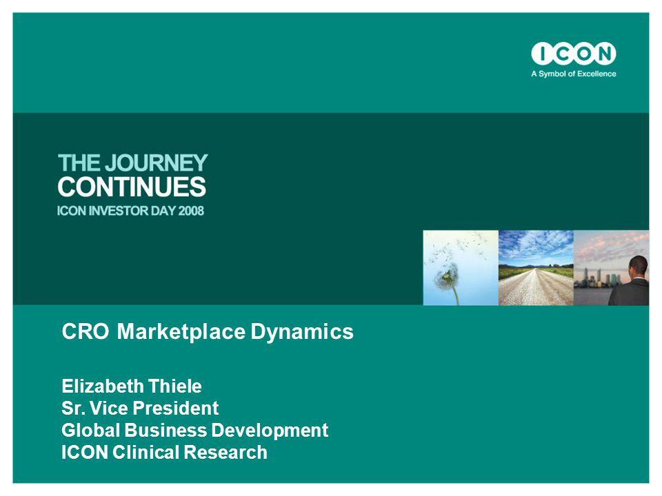 CRO Marketplace Dynamics