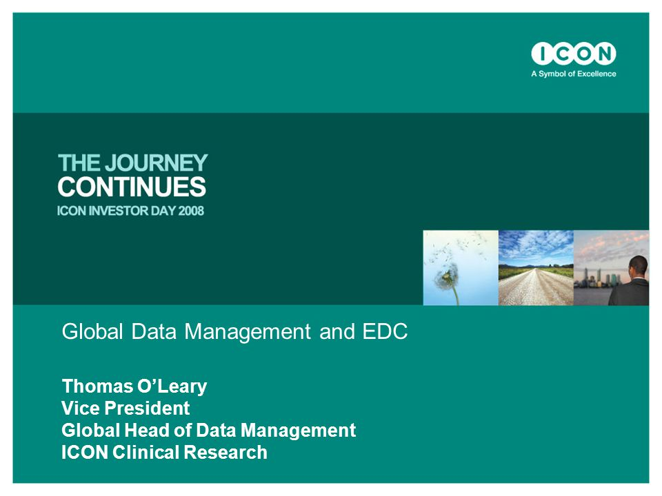 Global Data Management and EDC