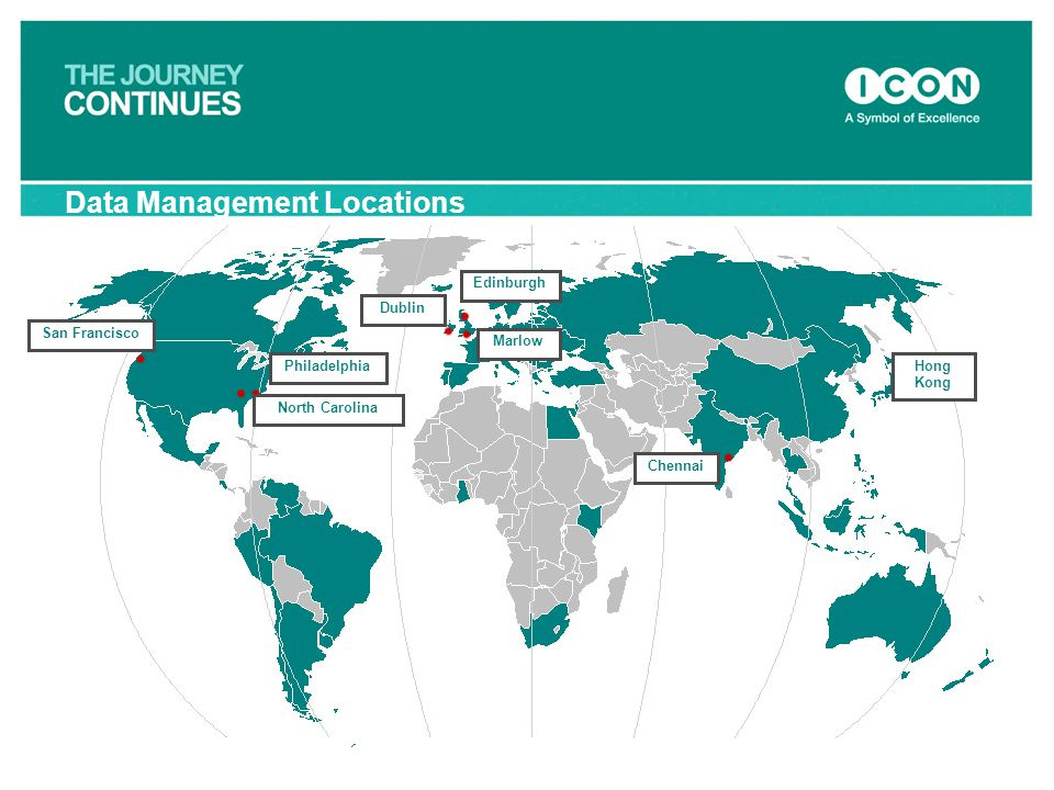 Data Management Locations