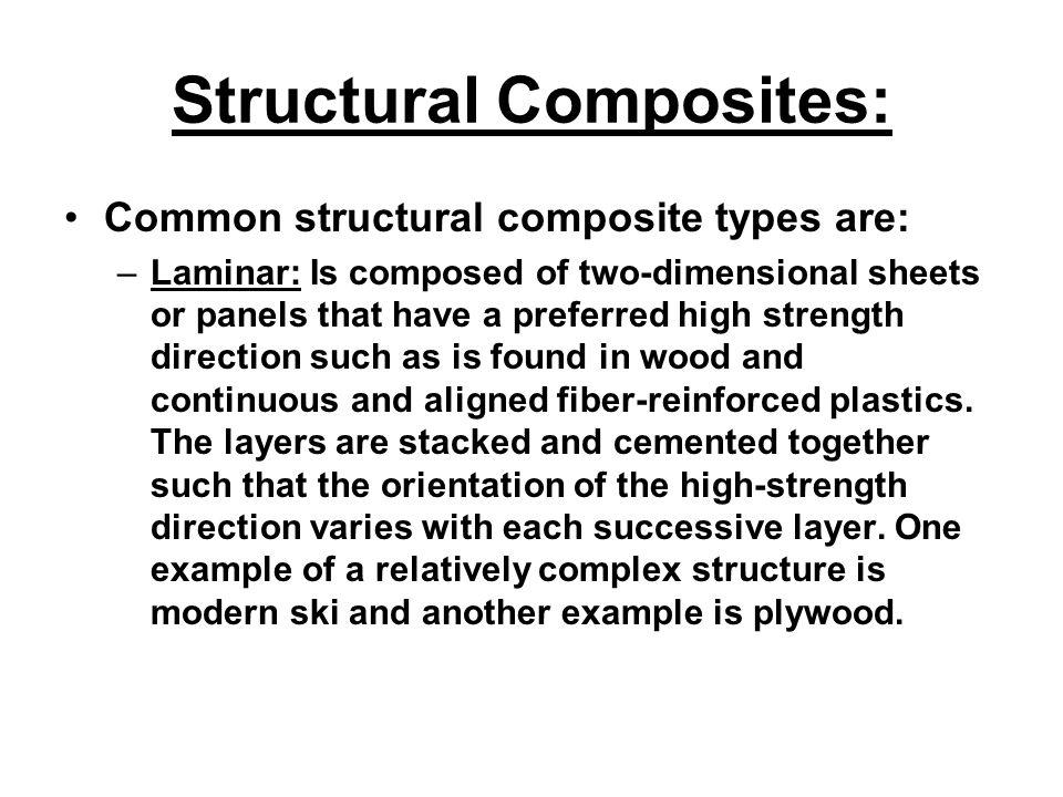 Structural Composites:
