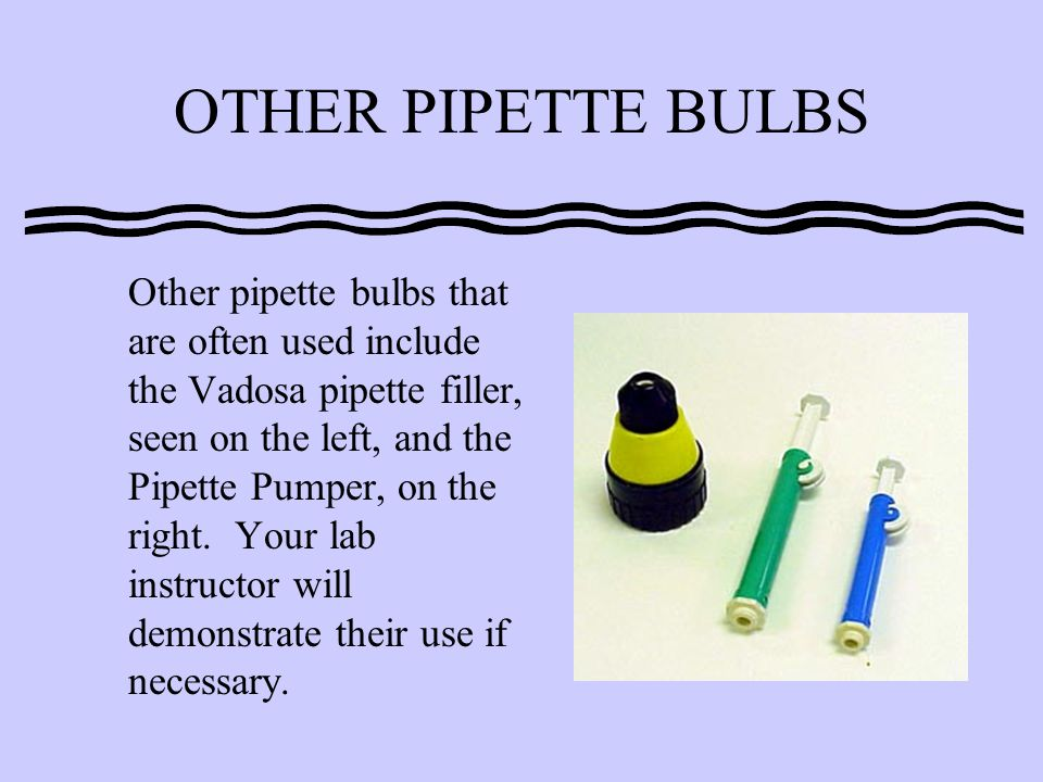 OTHER PIPETTE BULBS