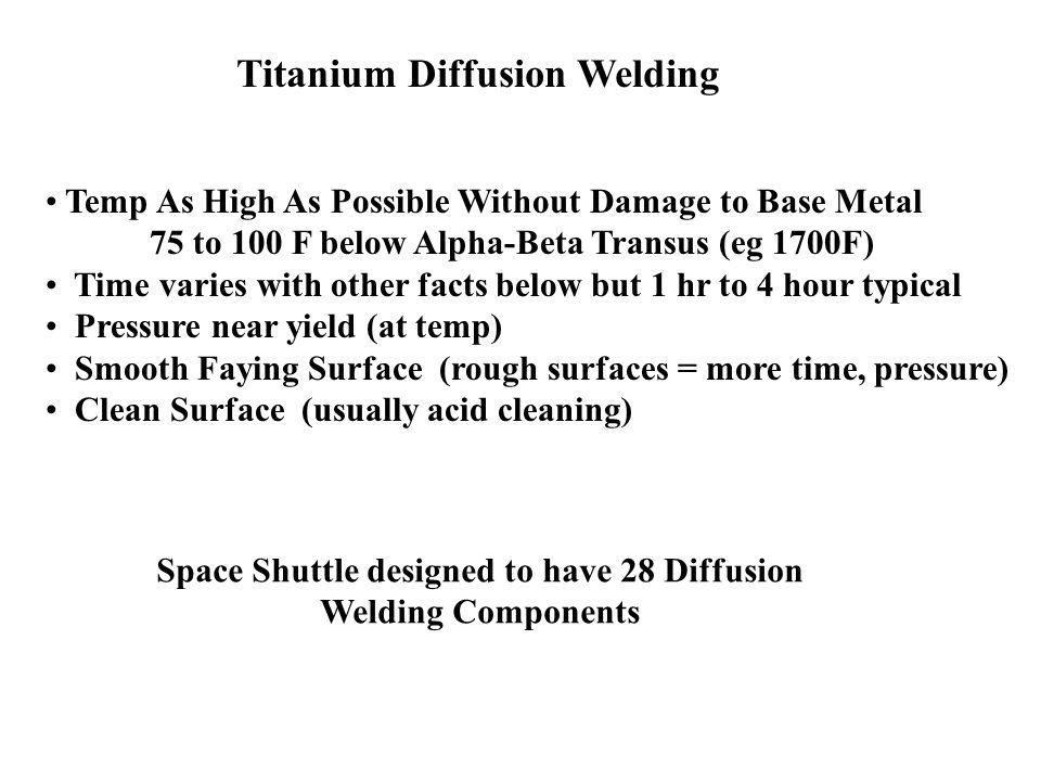 Titanium Diffusion Welding