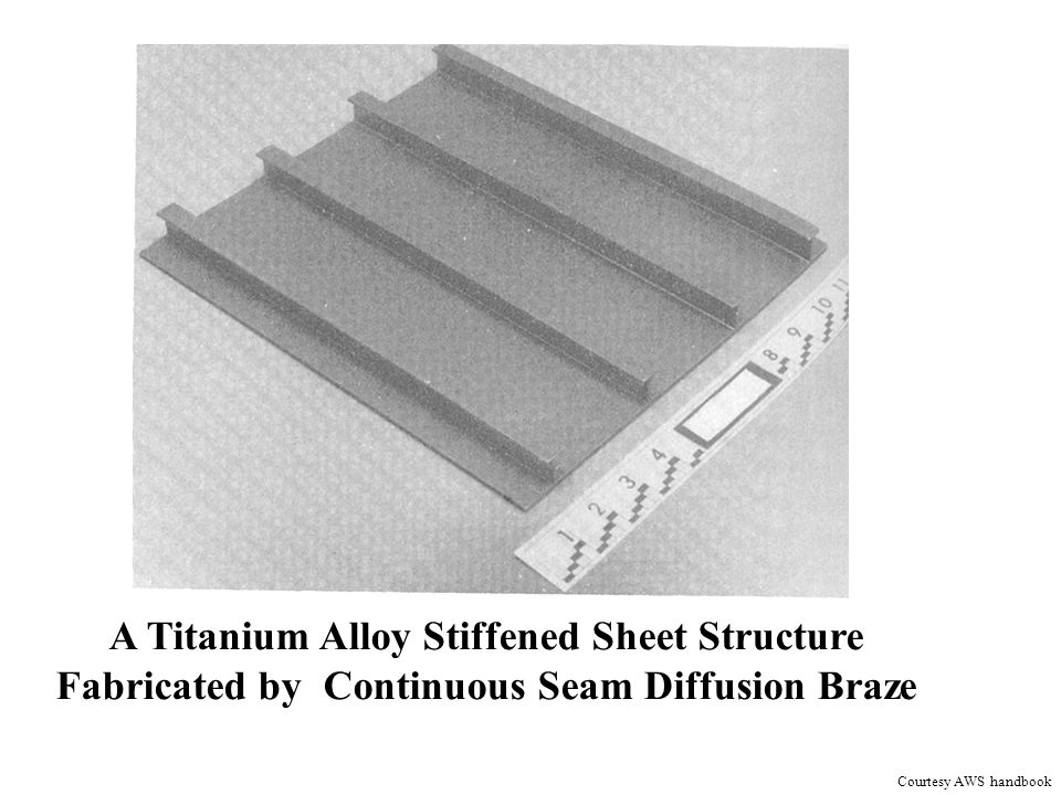 A Titanium Alloy Stiffened Sheet Structure