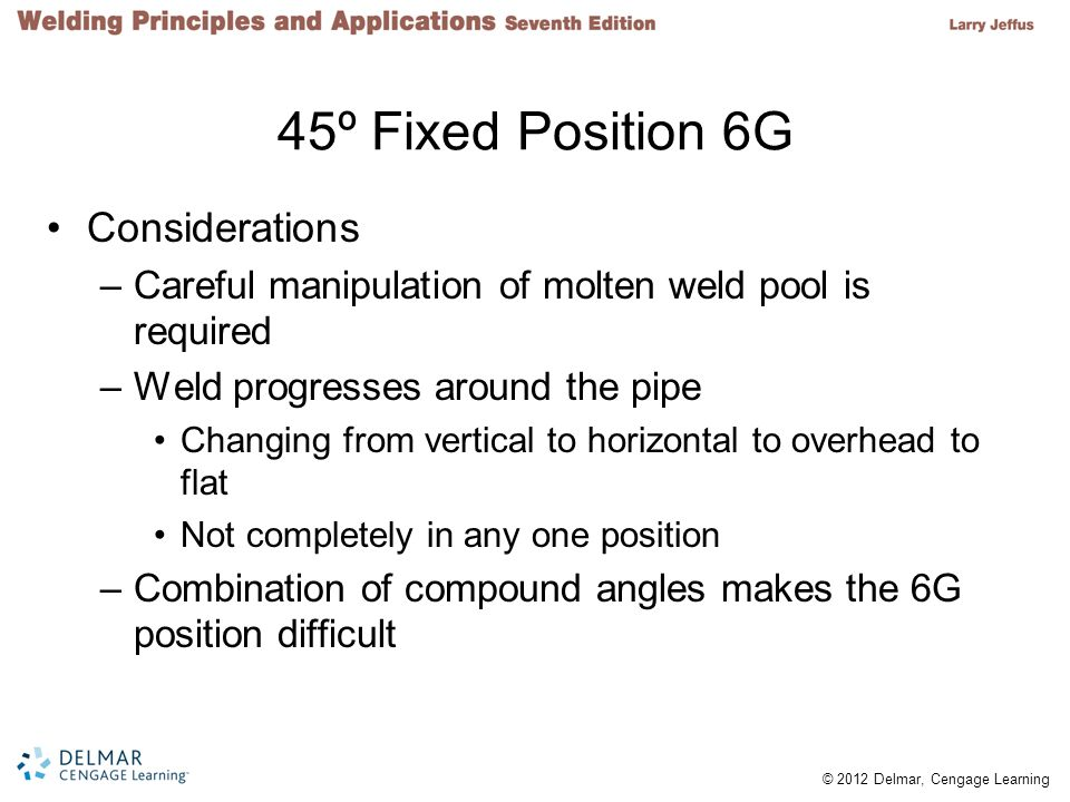 45º Fixed Position 6G Considerations
