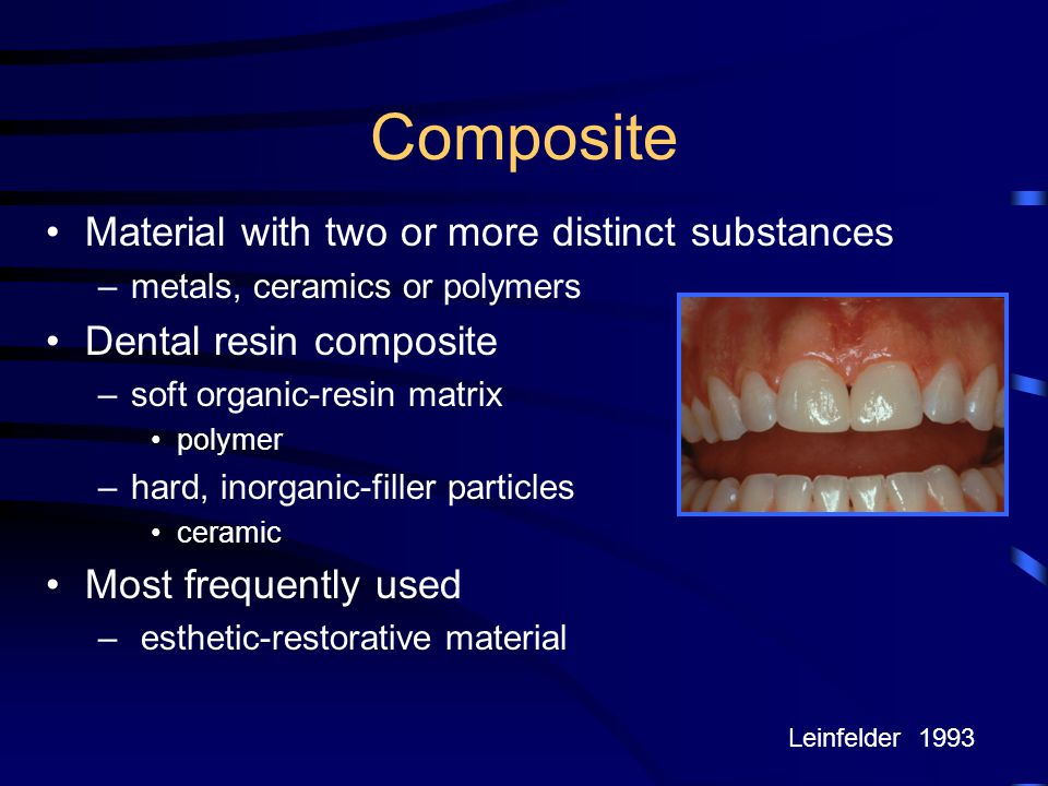 Composite Material with two or more distinct substances