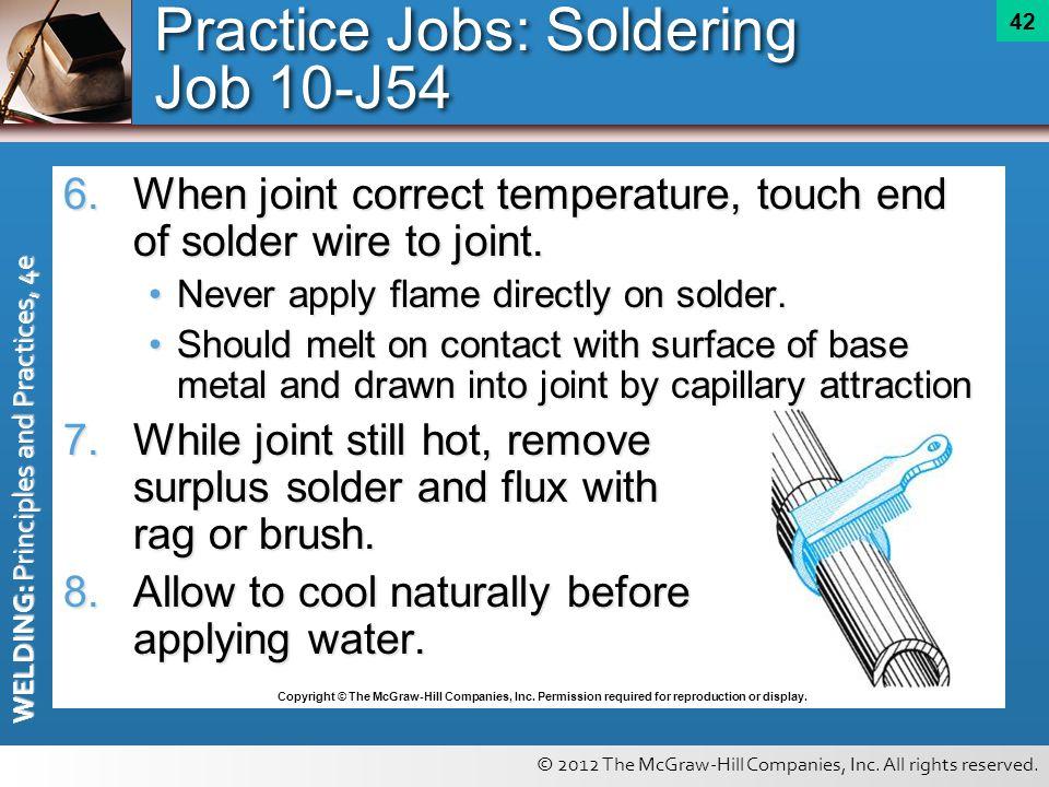 Practice Jobs: Soldering Job 10-J54
