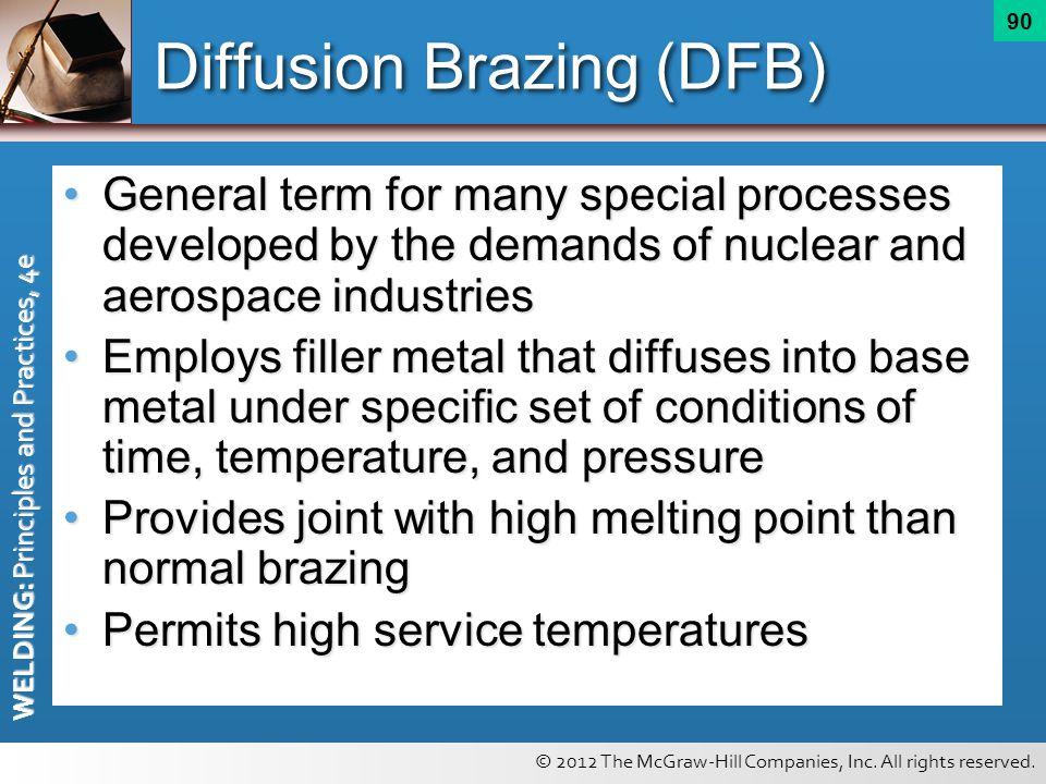 Diffusion Brazing (DFB)