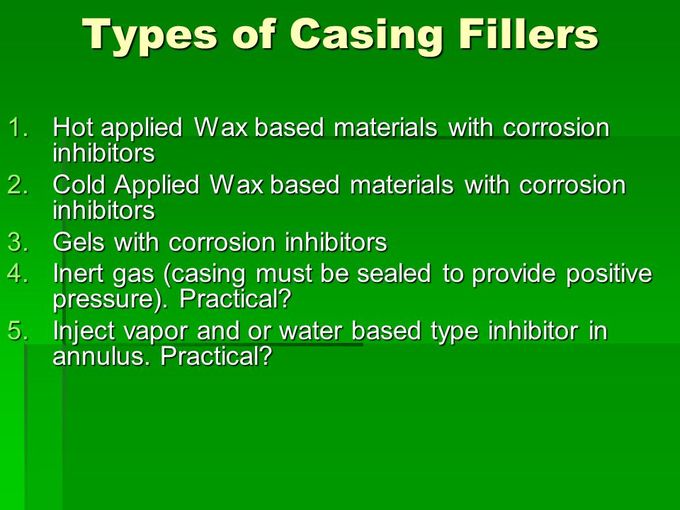 Types of Casing Fillers