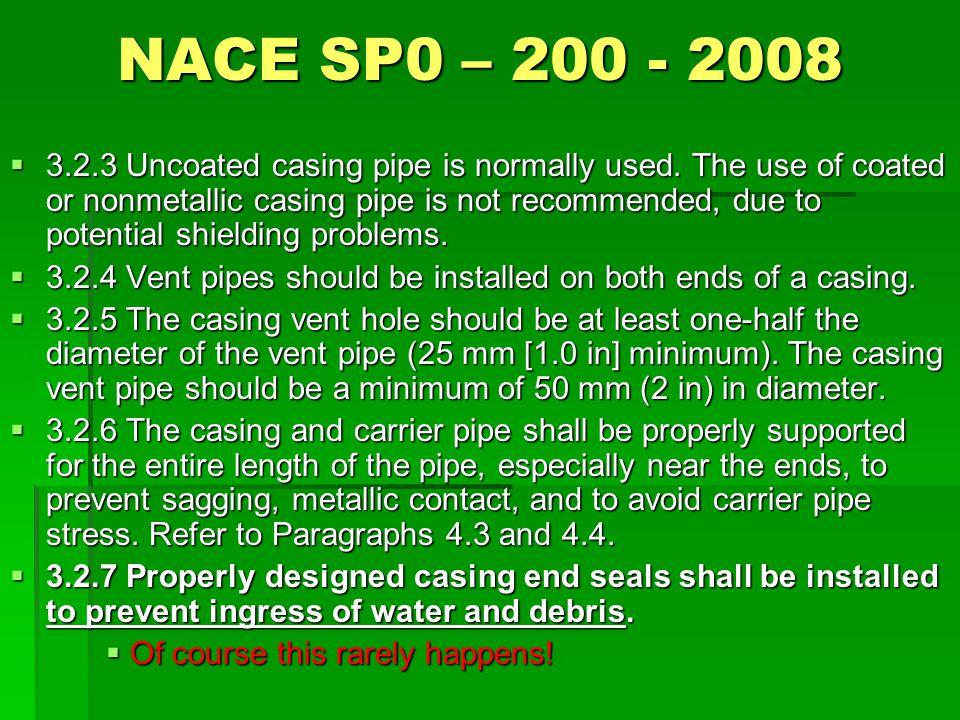 NACE SP0 – 200 - 2008