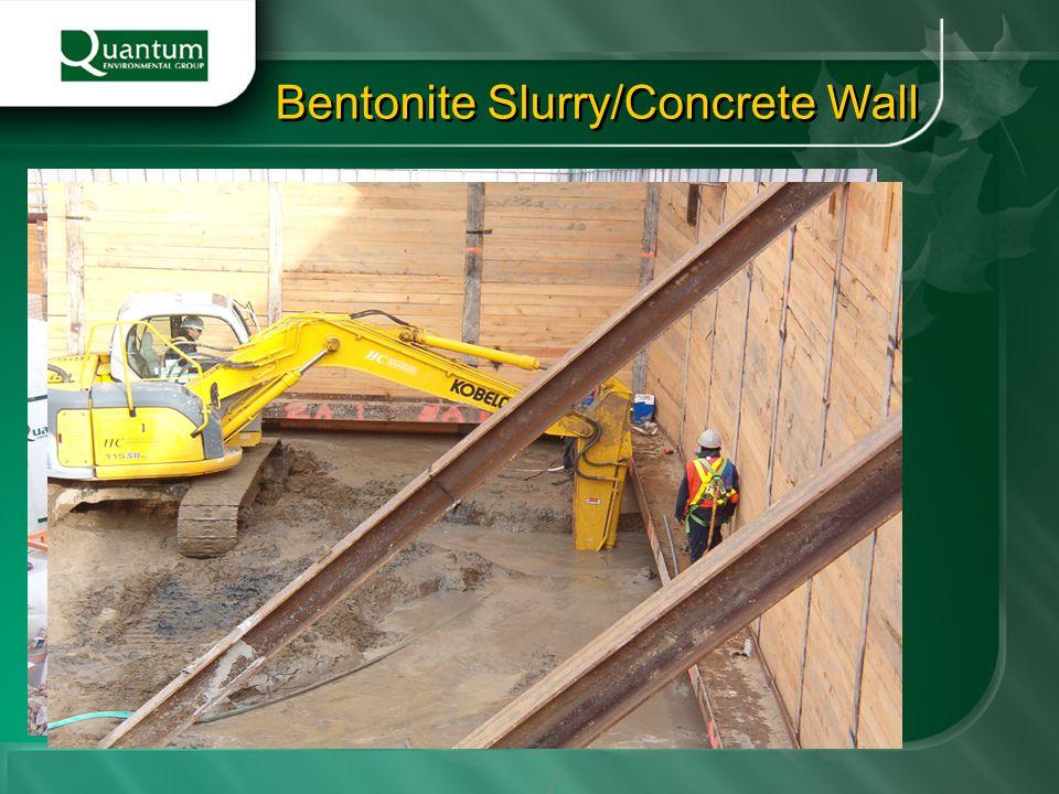Bentonite Slurry/Concrete Wall