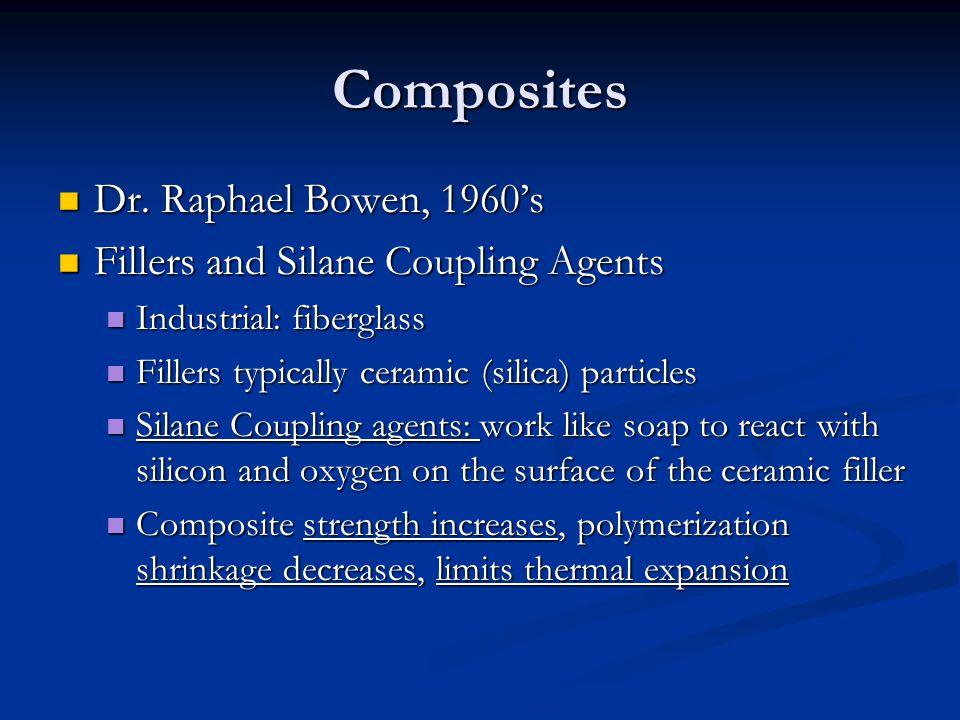 Composites Dr. Raphael Bowen, 1960's