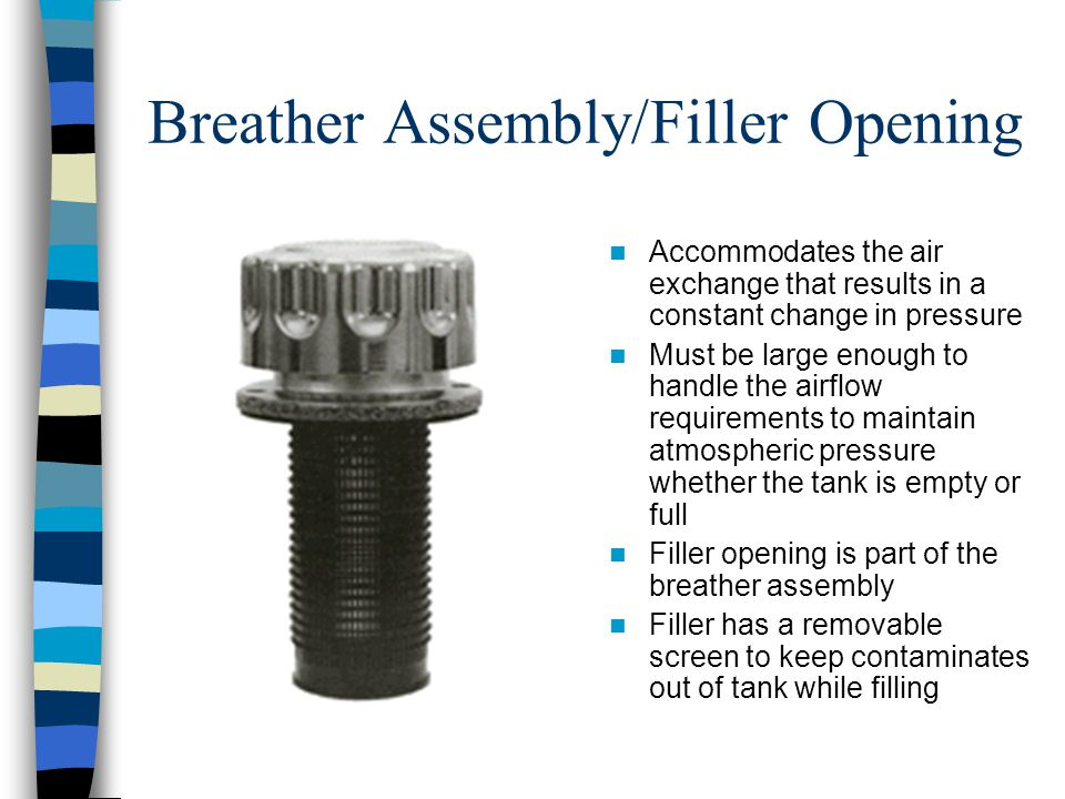Breather Assembly/Filler Opening