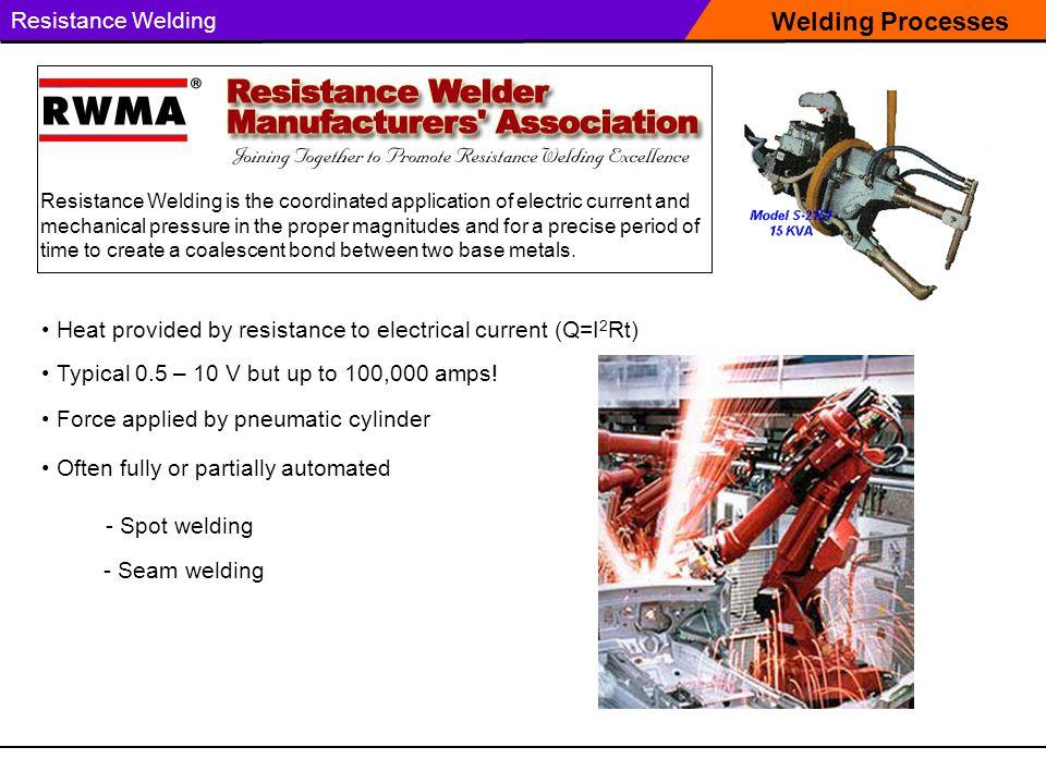 Welding Processes Resistance Welding