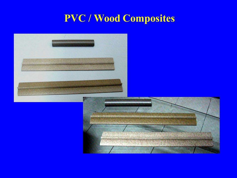 PVC / Wood Composites