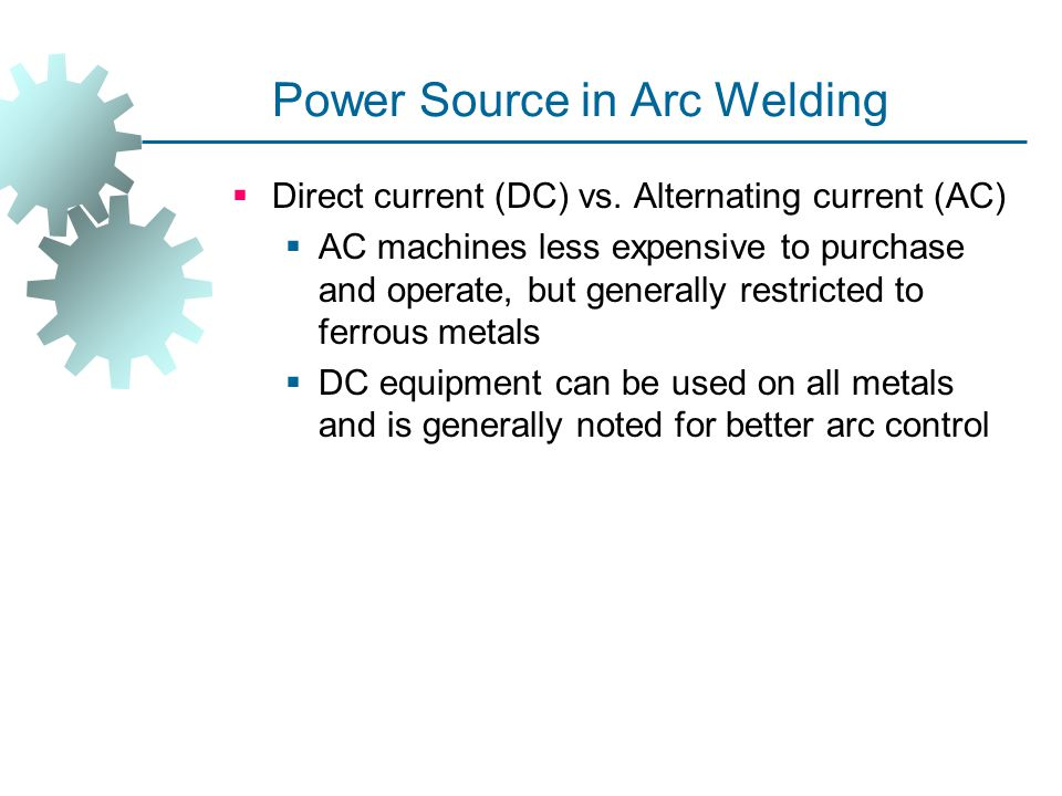 Power Source in Arc Welding