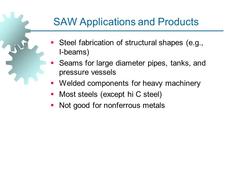 SAW Applications and Products