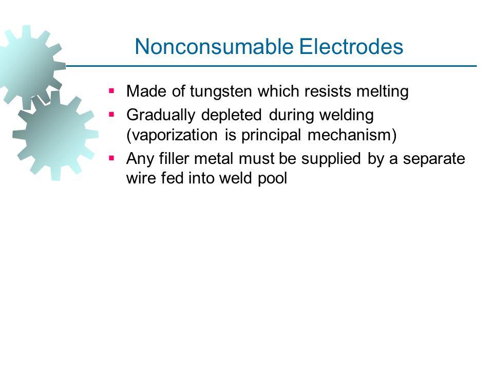 Nonconsumable Electrodes