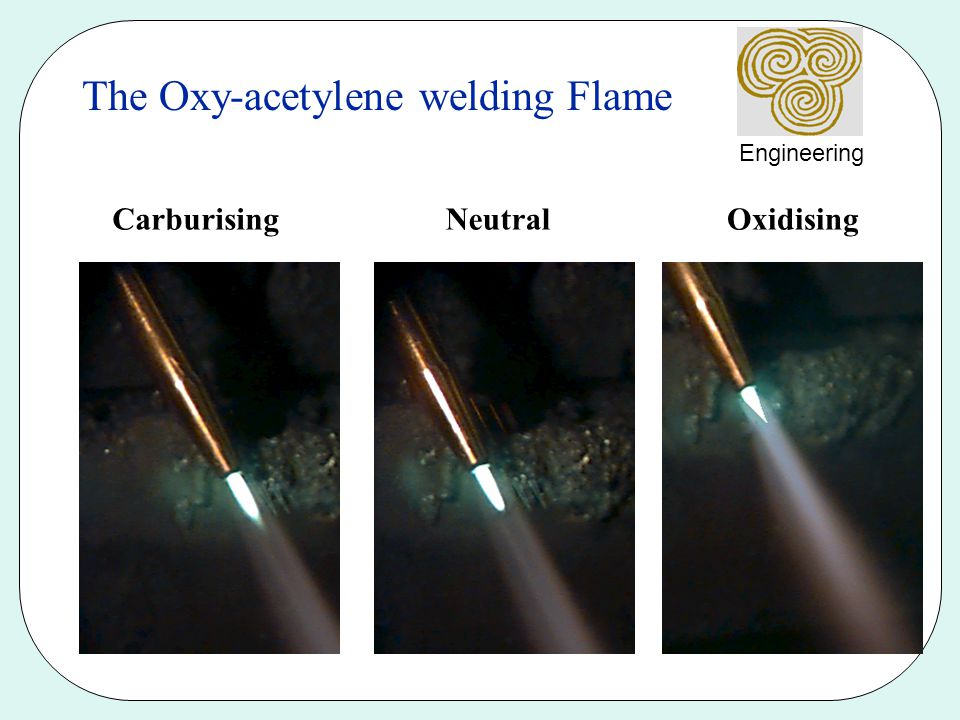The Oxy-acetylene welding Flame