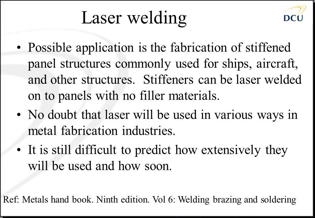 Laser welding