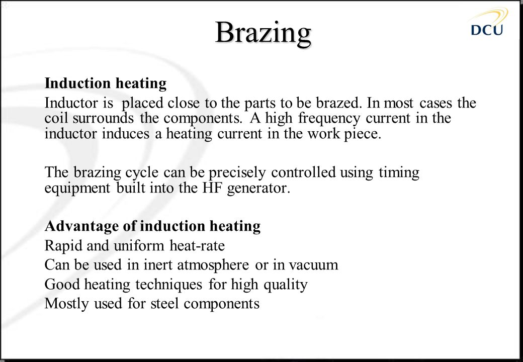 Brazing Induction heating
