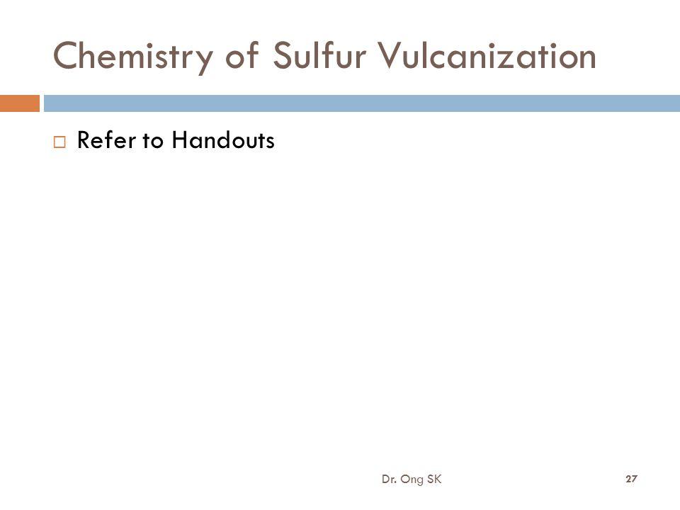 Chemistry of Sulfur Vulcanization