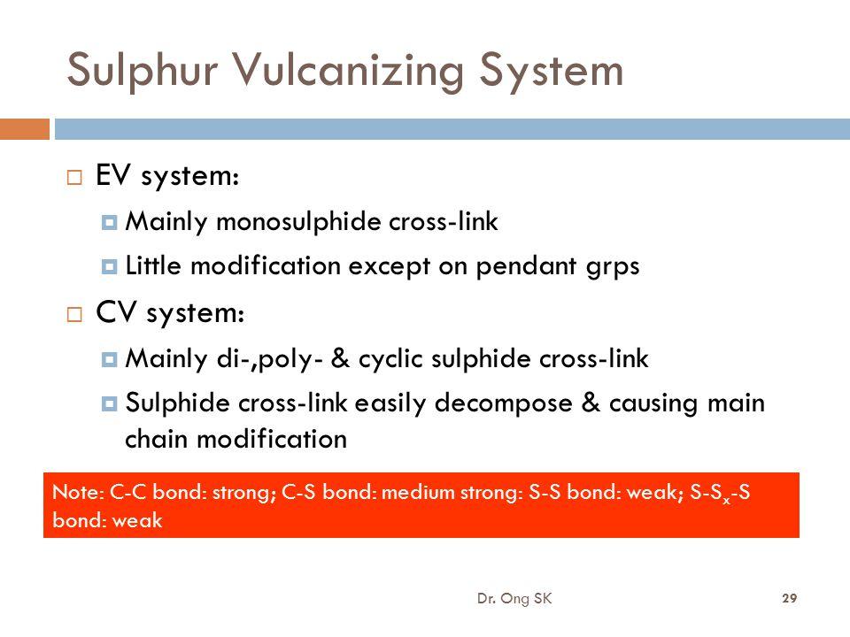 Sulphur Vulcanizing System