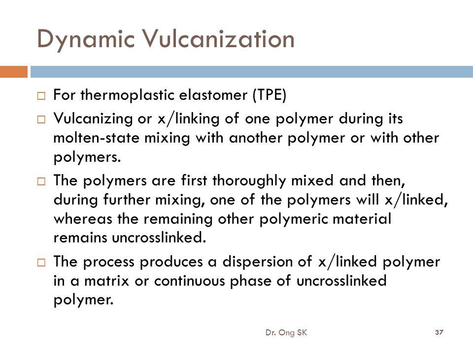 Dynamic Vulcanization
