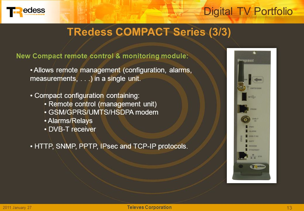 TRedess COMPACT Series (3/3)