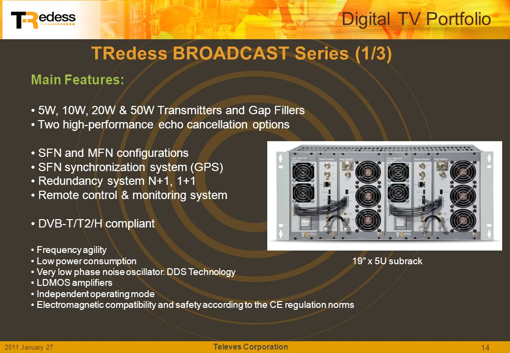 TRedess BROADCAST Series (1/3)