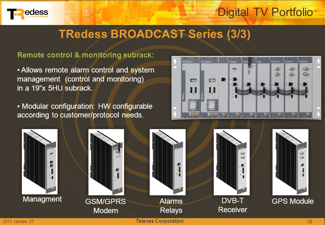 TRedess BROADCAST Series (3/3)