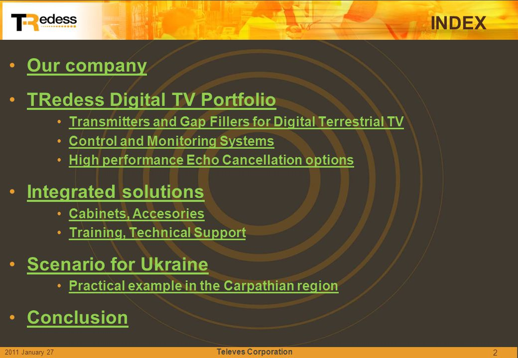 TRedess Digital TV Portfolio
