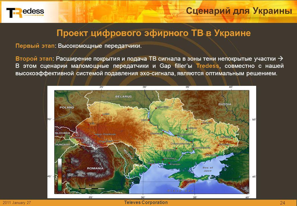 Проект цифрового эфирного ТВ в Украине